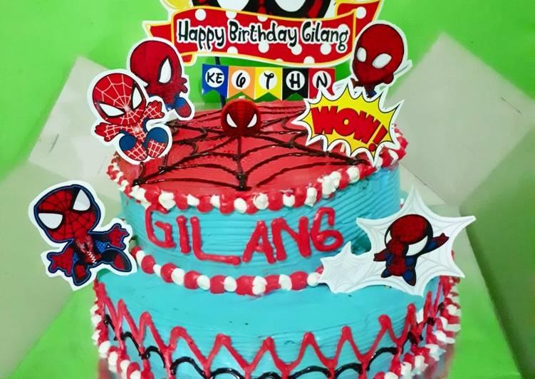 Resep Kue tart ulang tahun Paling Enak