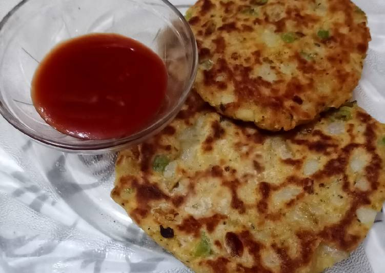 Aloo pizza squares