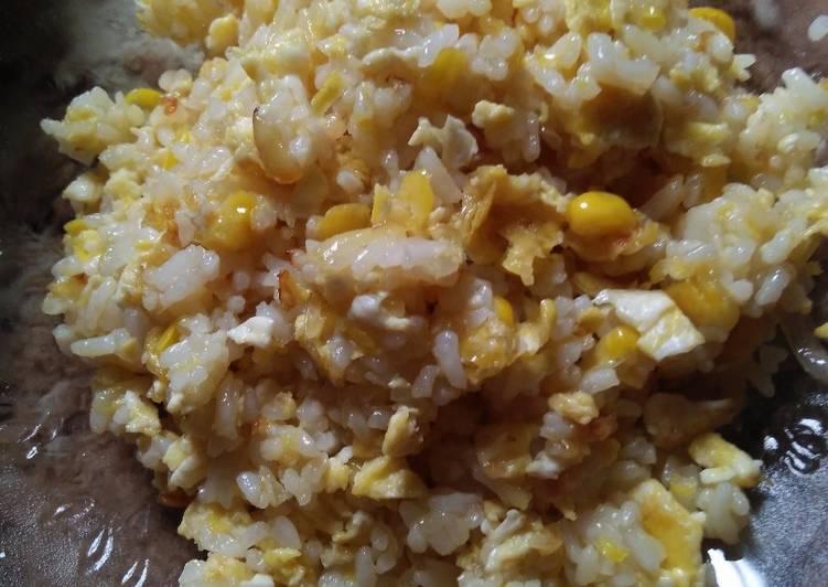 Resep Nasi goreng jagung manis mpas 1y+ Paling Joss