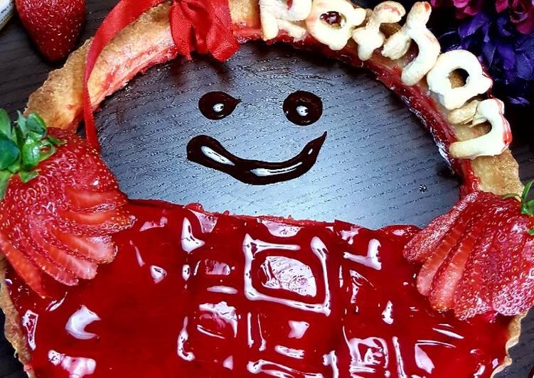 Simple Way to Prepare Award-winning Strawberry tart #CookpadFruits