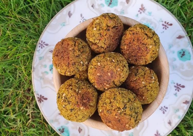 Recipe of Perfect Baked Falafels