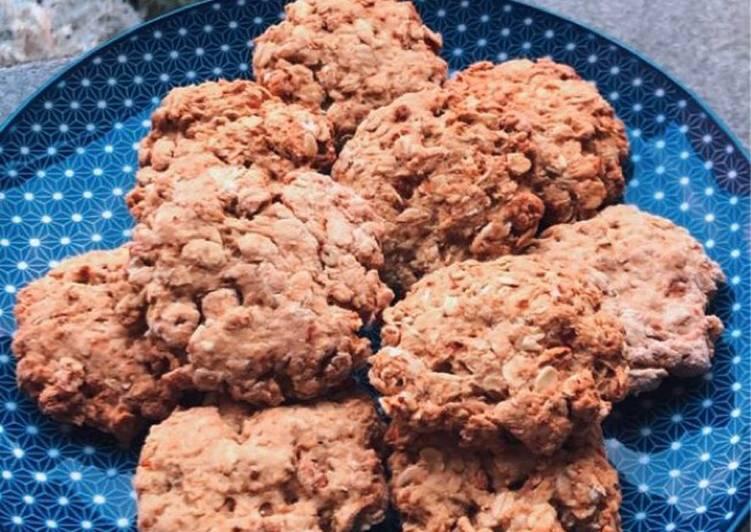 Biscottini rustici con fiocchi d'avena e farro soffiato🍪🧏🏻♀️