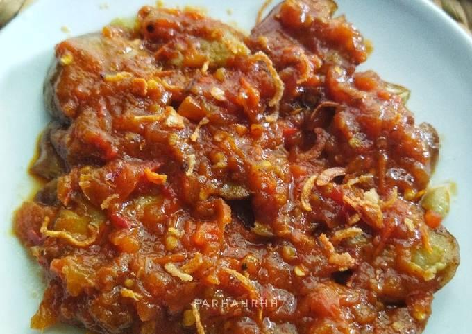 jengkol geprek sambal pecel lamongan - resepenakbgt.com