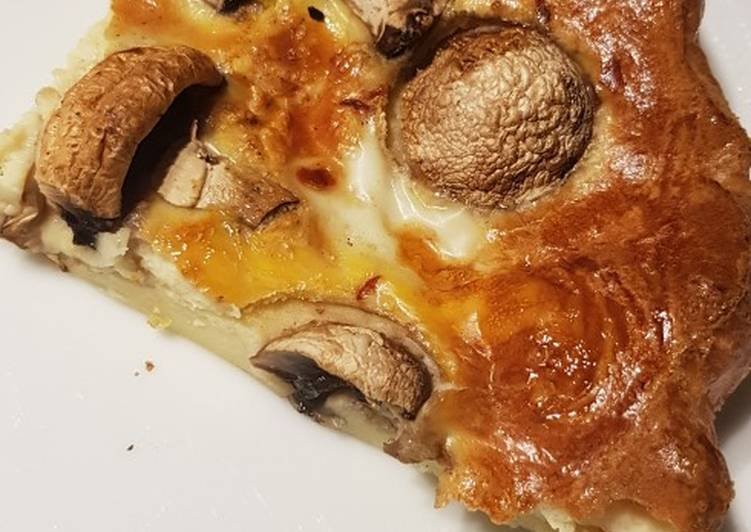 Step-by-Step Guide to Prepare Ultimate Mushroom Yorkshire pudding