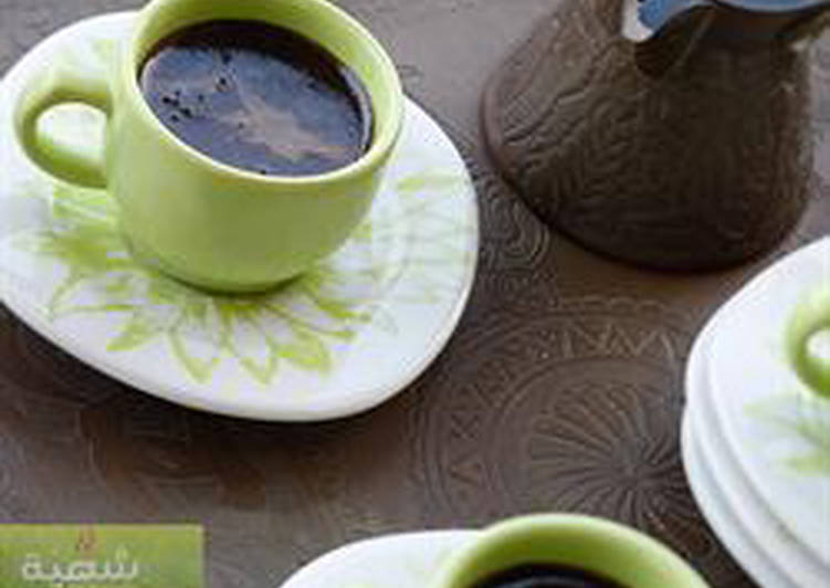 Turkish coffee - kahwa turqiyyeh