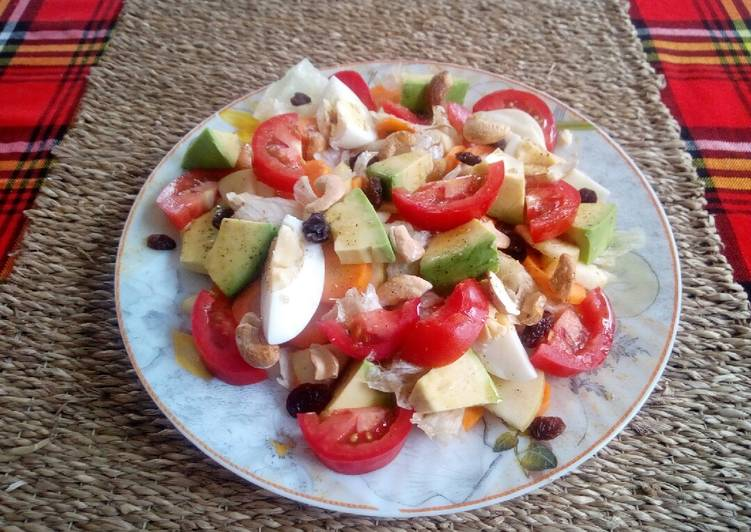 Recipe: Appetizing Summer salad