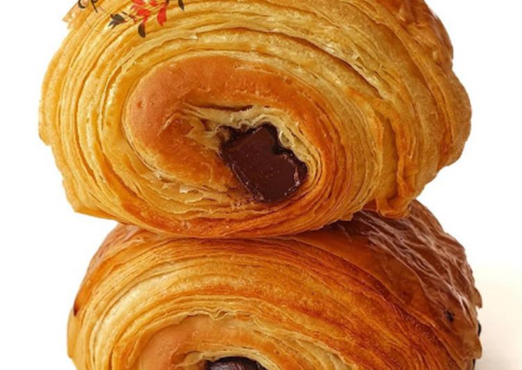Recette Savoureux Mes tout premiers pains au chocolat