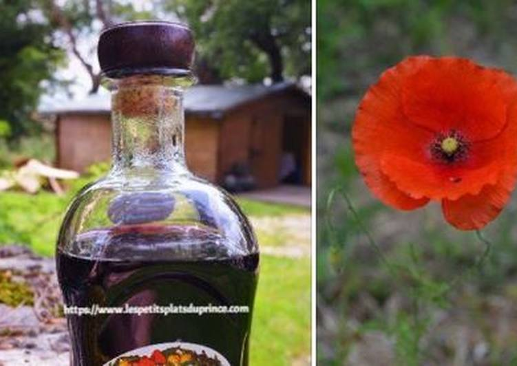 Easiest Way to Prepare Delicious Sirop de coquelicots