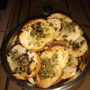 Pan saborizado
