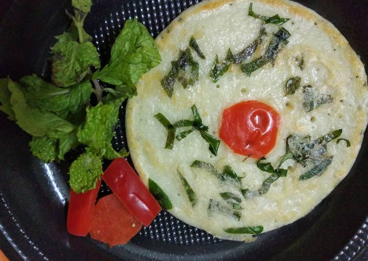 Recipe of Any-night-of-the-week Sweet and savoury malai pancakes