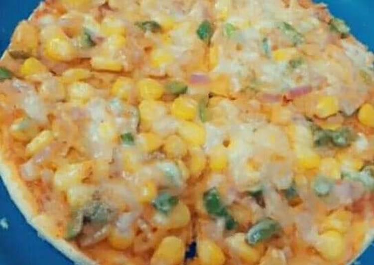 Recipe of Ultimate Corn pizza