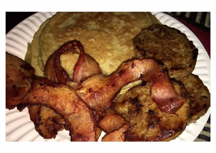 Sweet confetti pancake 🥞