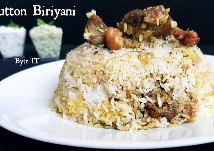 Easiest Way to Make Quick Mutton biriyani
