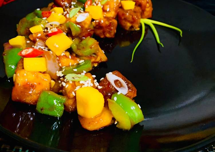 How to Prepare Yummy Spicy Mango Paneer
