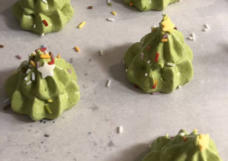 Petits sapins meringues /coco # team trees