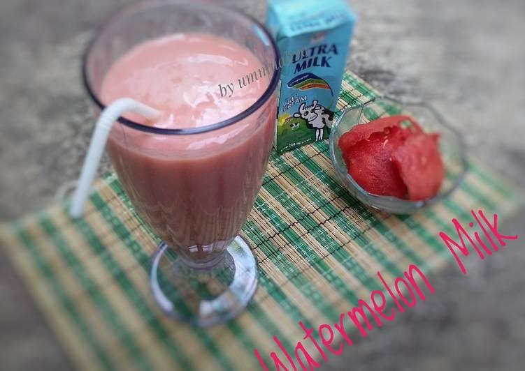 Watermelon Milk