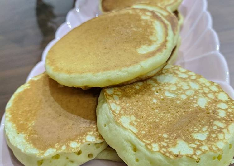 Simple Way to Prepare Speedy Fluffy pancake easy recipe