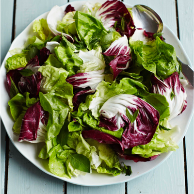 Simple Green Salad With Lemon Dressing Recipe By Jamie Oliver Cookpad