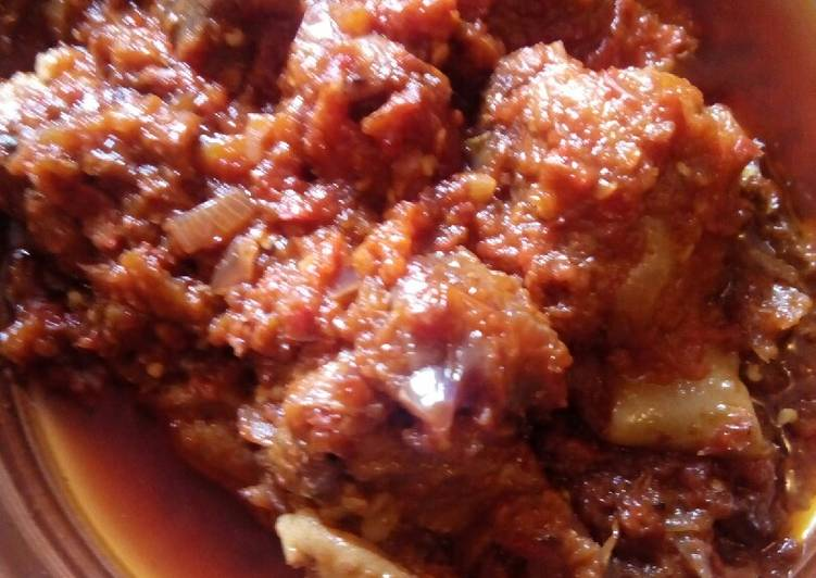 Use Food to Improve Your Mood Gizzard sauce with Basmati rice