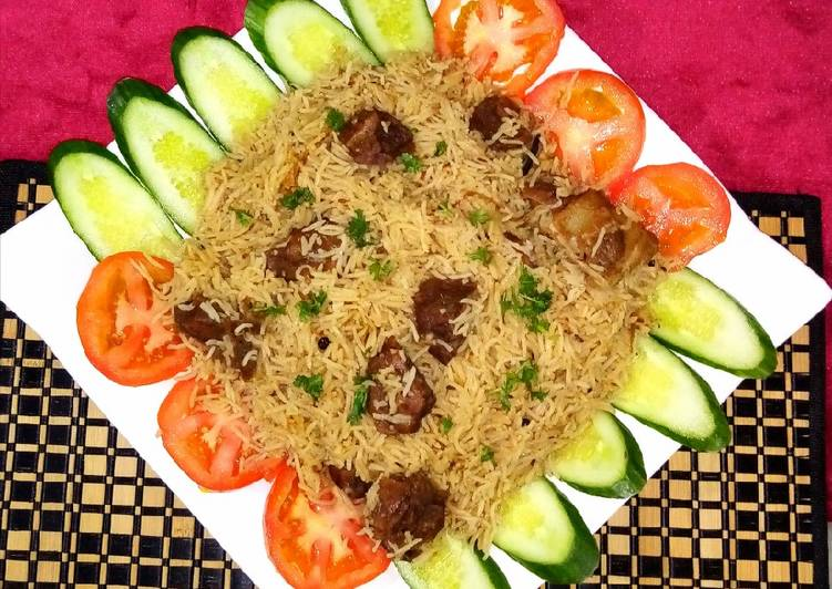 10 Minute Steps to Prepare Any Night Of The Week Mutton yakhni pulao