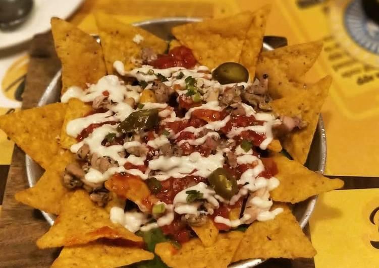 Recipe of Any-night-of-the-week Cheesy Nachos