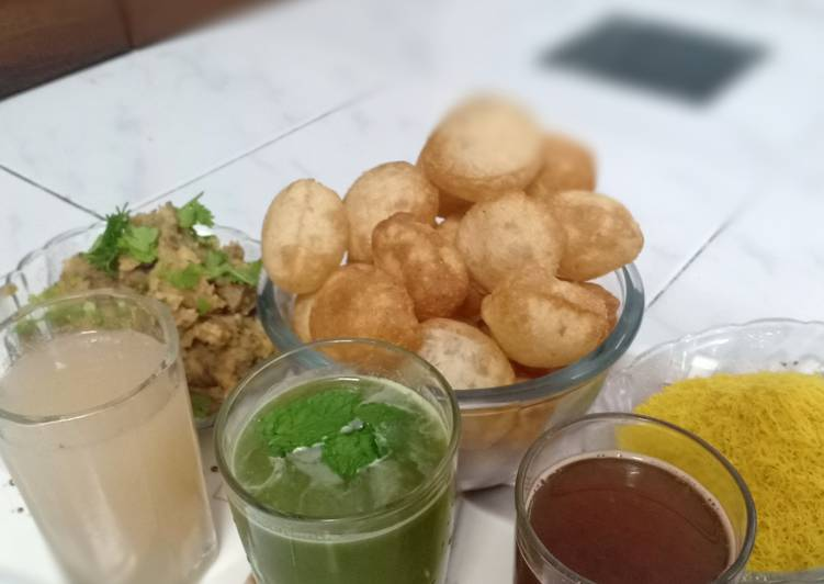 Eat These 14 Superfoods to Go Green for Great Health Multi flavour Panipuri