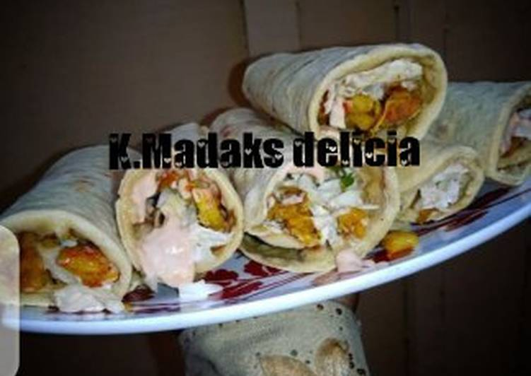 Recipe of Speedy Chicken shawarma