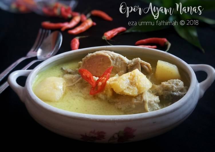 10. Opor Ayam Nanas khas Palembang #RabuBaru