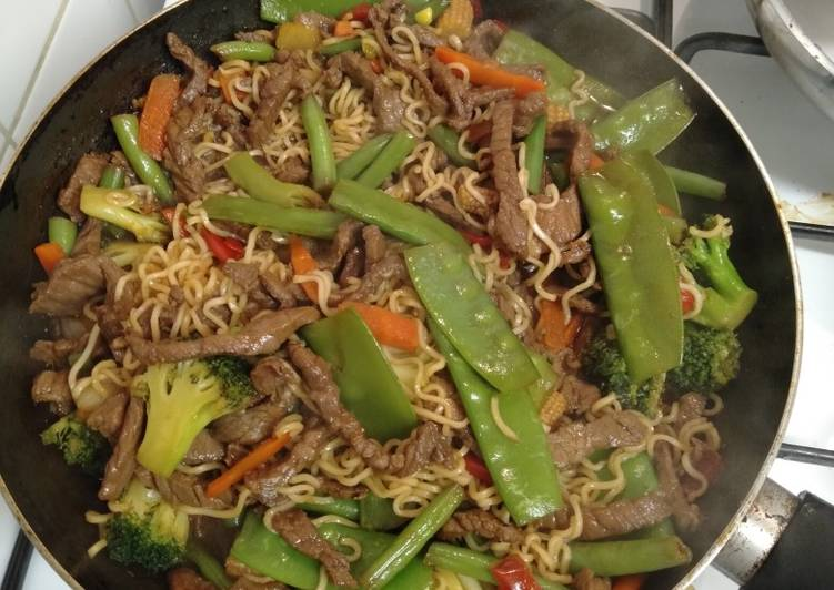 How to Make Most Popular Beef stir-fry