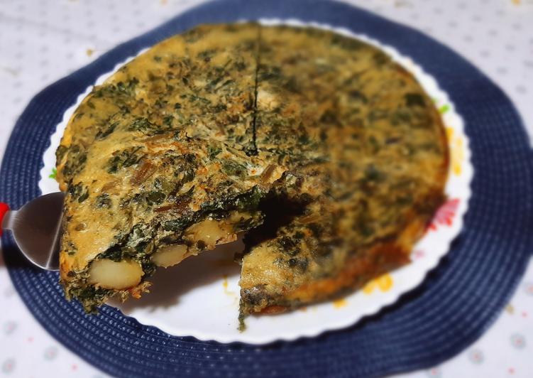 Recette Parfait Tortilla épinards pommes de terre 🍴