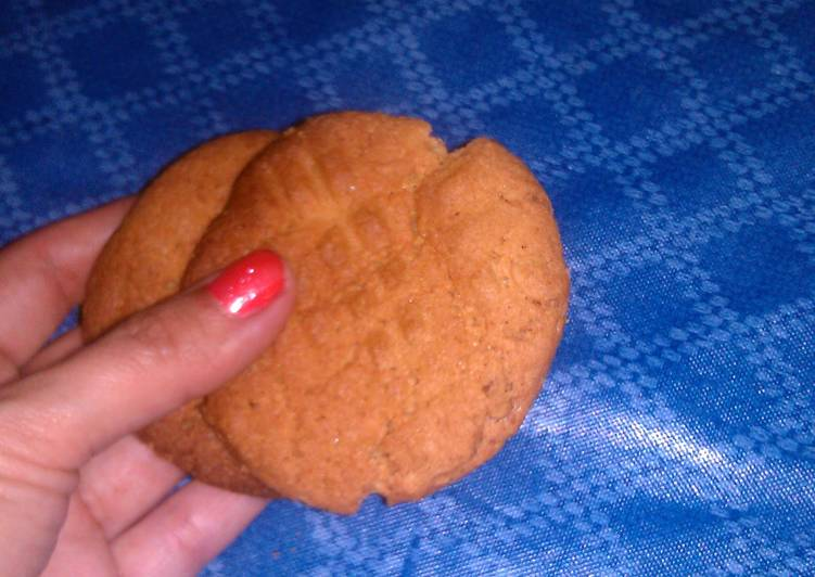 Step-by-Step Guide to Prepare Any-night-of-the-week Easiest Peanut Butter cookies!! NO FLOUR!!:-)