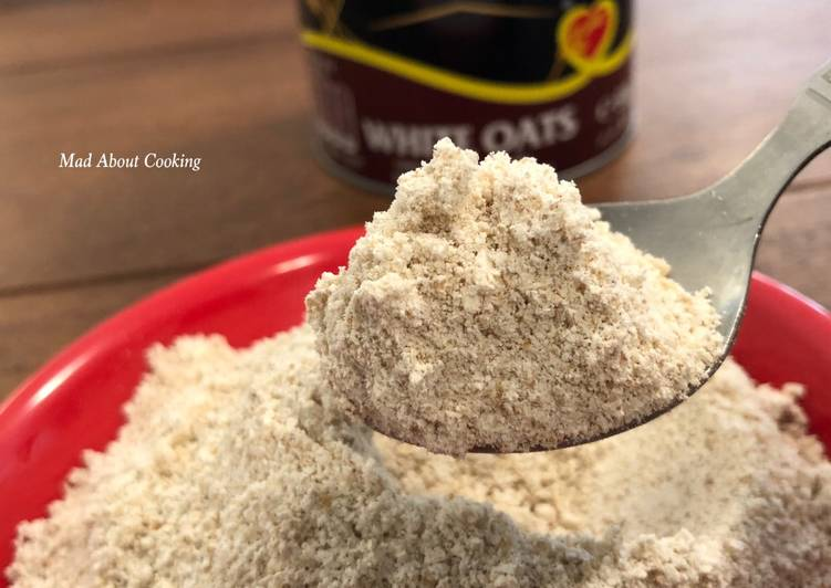 Easiest Way to Make Delicious How to make Homemade Oats Flour?