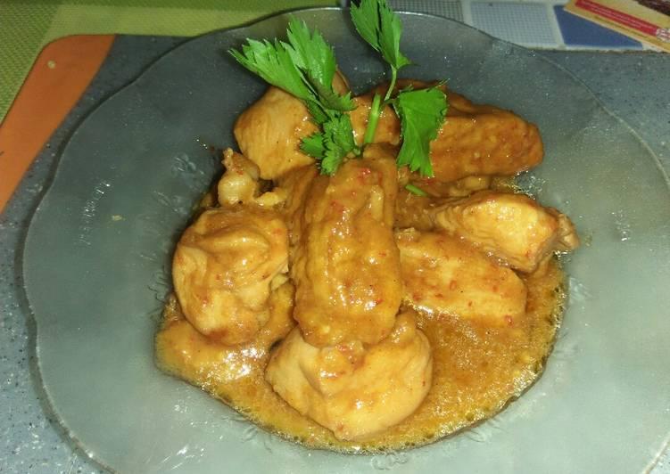 Semur Ayam Tahu