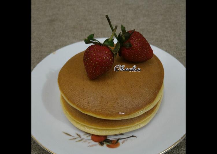 Resep Dorayaki / Pancake Bikin Jadi Laper