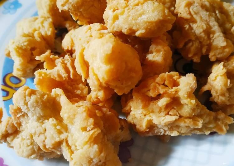 Resep Chicken popcorn kriuk Enak Banget
