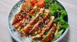 Hình ảnh món TERIYAKI CHICKEN DONBURI (Cơm gà sốt Teriyaki Nhật bản)