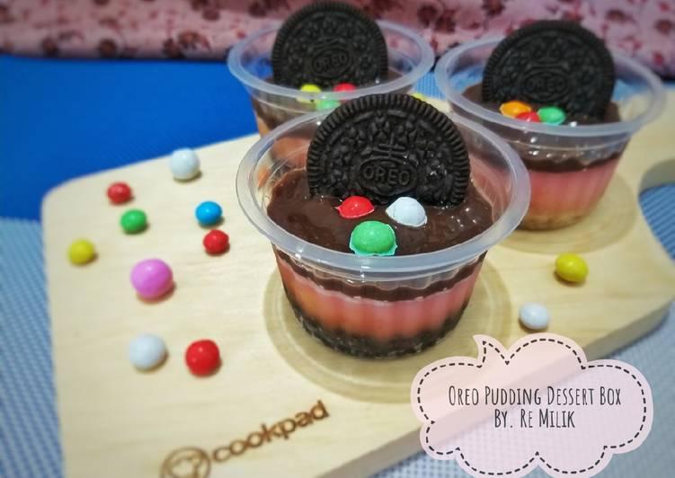 91. Oreo Pudding Dessert Box
