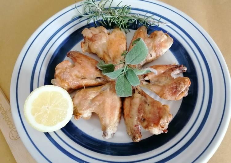 Ricetta Deliziose e croccanti alette 🐔al forno di casa!!!