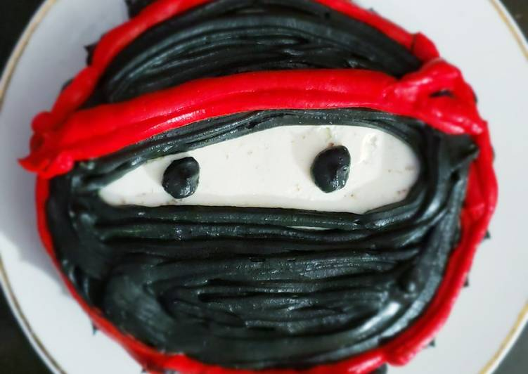 NINJA chocolava double layered cake