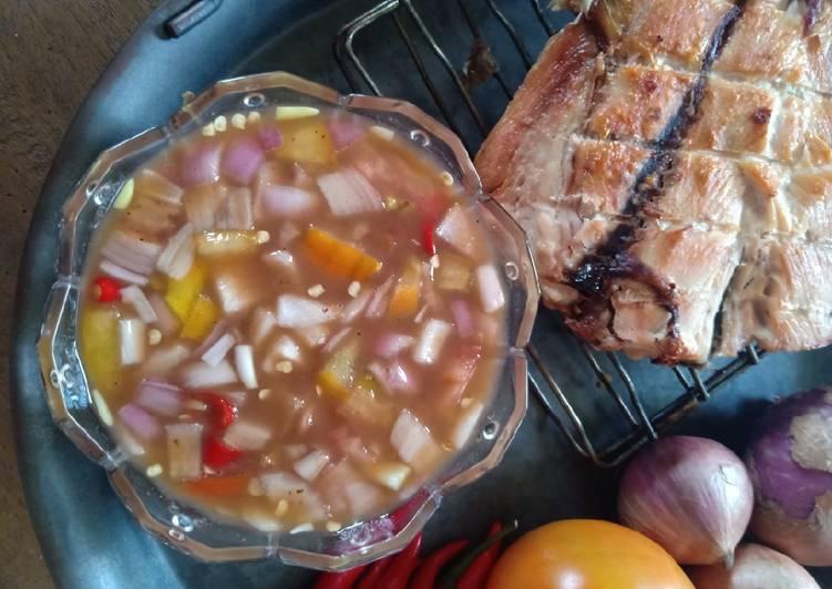 Air Asam Ikan Panggang - resepipouler.com