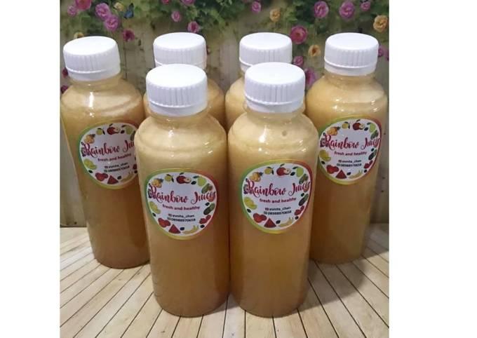 Diet Juice Persimmon Apple Grape Lime Date