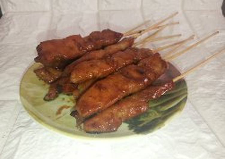 Sate ayam manis - cookandrecipe.com