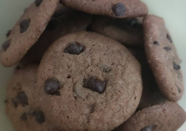 Choco chips cookie