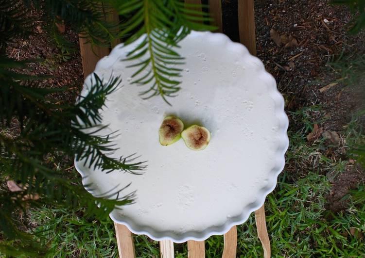 Tarta de queso ligera (sin horno)