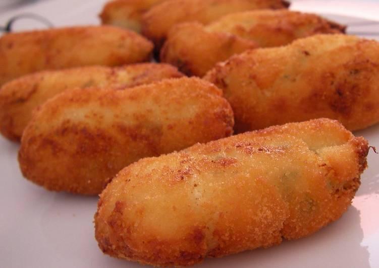 Receta Croquetas de patata de mi yaya delicioso