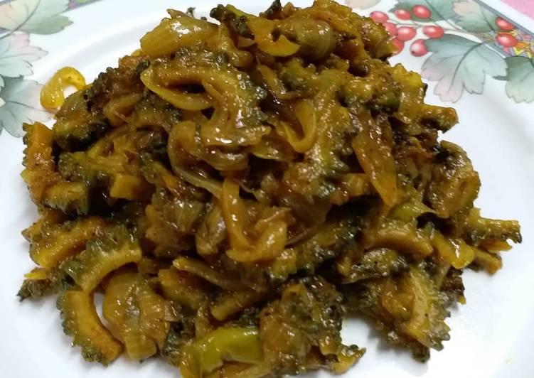 15 Minute Recipe of Autumn Karela Sabzi