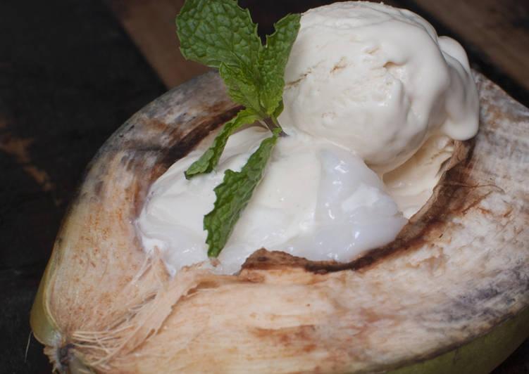 Quick and Easy Limoncello Coconut Milk Ice Cream