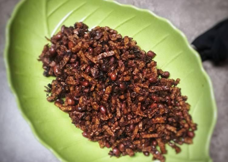 Kering tempe kacang bumbu rica2