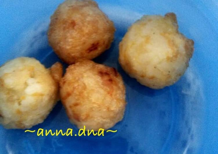 Resep Chicken Rice Balls Mpasi 11mo Oleh Anna Dna Cookpad