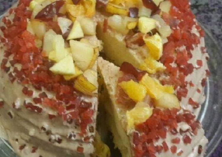 Recipe of Perfect Fresh Fruit Cake